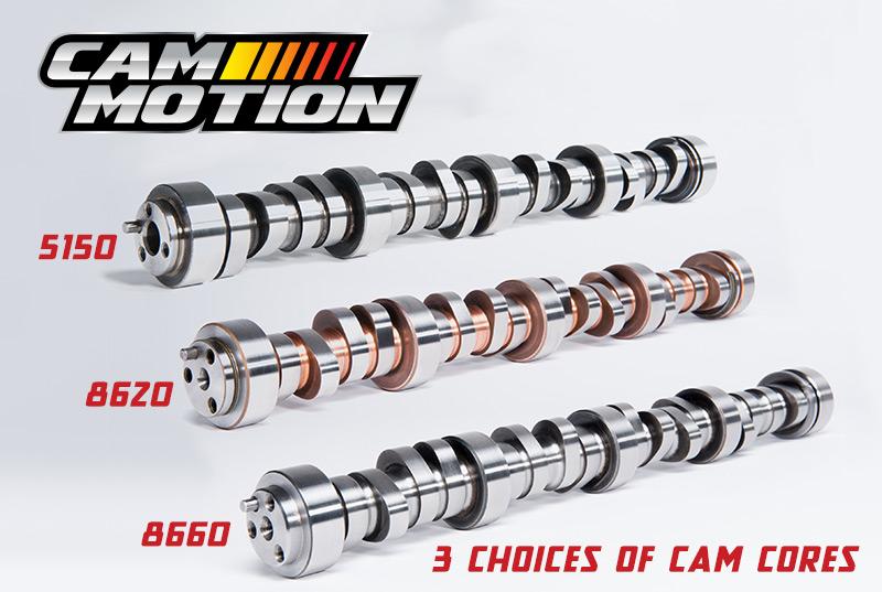 LS 3 bolt Cam Motion Custom Cam of Choice