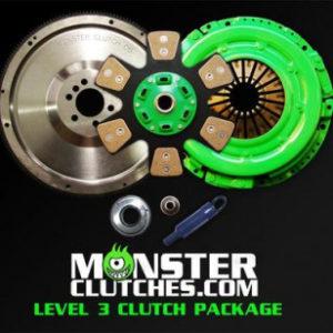 MONSTER LEVEL 3 FBODY CLUTCH KIT W/BILLET STEEL FLYWHEEL (12″)  MCL312FBODYBB