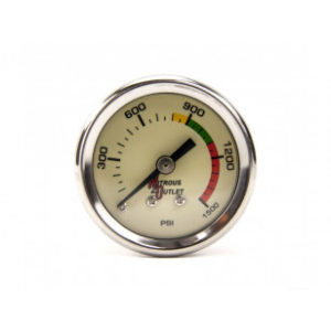 NITROUS OUTLET PRESSURE GAUGE & 6AN MANIFOLD 00-63001-6