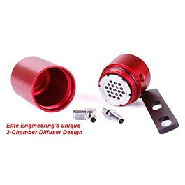 ELITE ENGINEERING CATCH CAN – 08-13 C6 CORVETTE – RED – CC-200R
