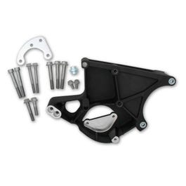HOLLEY ACCESSORY DRIVE BRACKET KIT – LS – DRIVER SIDE P/S & ALTERNATOR BRACKET – BLACK – 20-135B